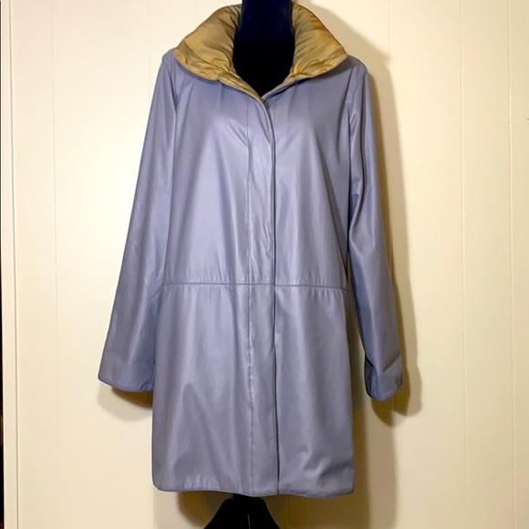 NEW MYCRA PAC Life Hooded Reversible Knee Raincoat